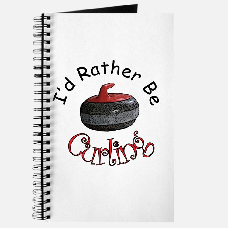I'd Rather Be Curling Journal