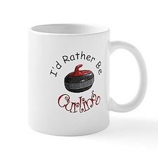 I'd Rather Be Curling Mug