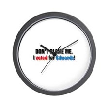 Don't blame me! Wall Clock