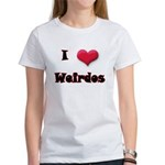 I Love(Heart) Weirdos Women's T-Shirt