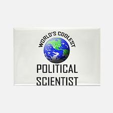 World's Coolest POLITICAL SCIENTIST Rectangle Magn