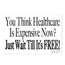 No Socialized Medicine Postcards (Package of 8)