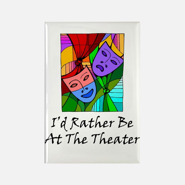 Theater Rectangle Magnet