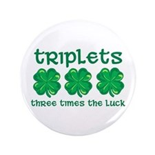 "St. Patty's Day - 3.5"" Button"