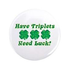 """St. Patty's Day - 3.5"""" Button"""