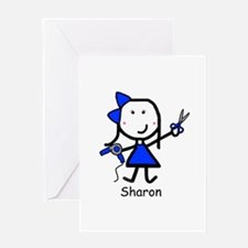Hairstylist - Sharon Greeting Card