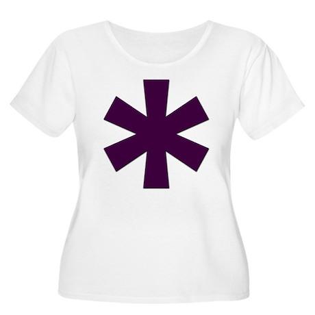 Asterisk Women's Plus Size Scoop Neck T-Shirt