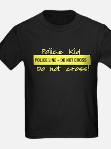 Police Kid Do Not Cross T