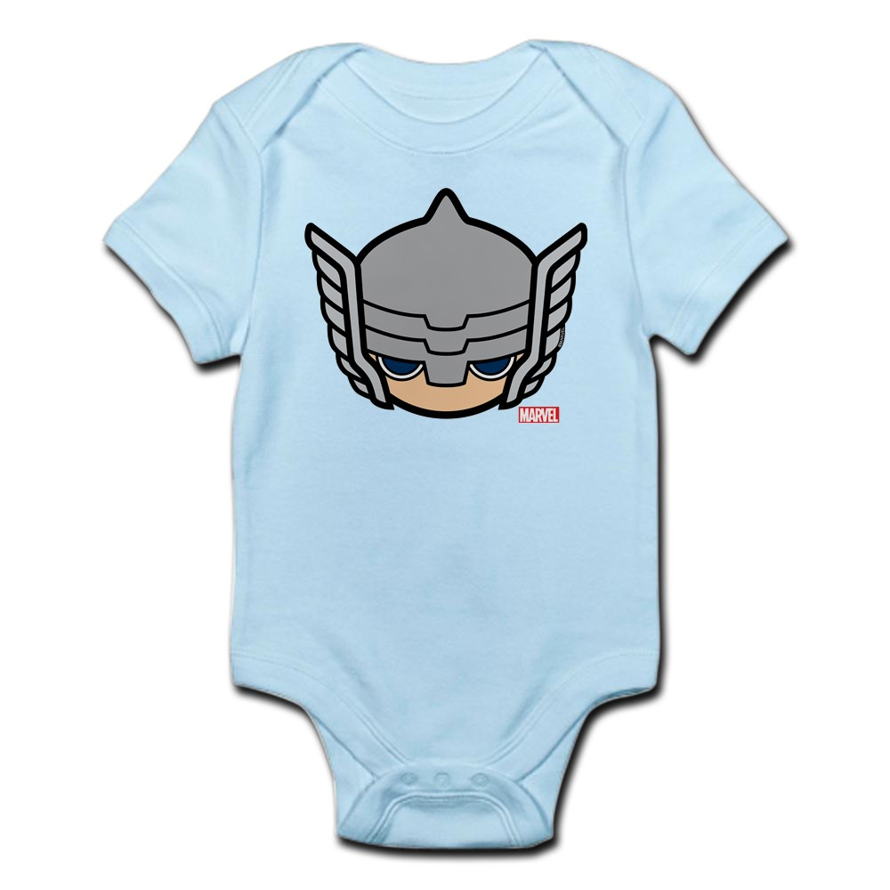 CafePress Thor Icon Cute Infant Bodysuit Baby Romper 222669526