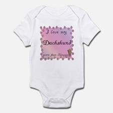 Dachshund Shopping Infant Bodysuit