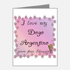 Dogo Shopping Note Cards (Pk of 20)