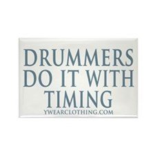 Drummers Timing Rectangle Magnet