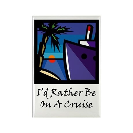 Cruise Rectangle Magnet