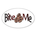 Cookie Oval Sticker