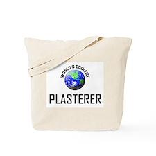 World's Coolest PLASTERER Tote Bag