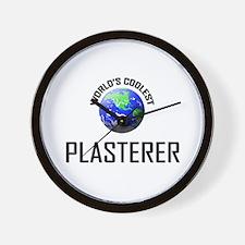 World's Coolest PLASTERER Wall Clock
