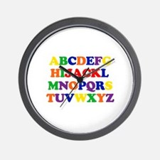 Jack - Alphabet Wall Clock