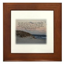 Cute Alcohol recovery Framed Tile
