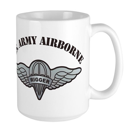 Rigger Wings with US Army Air Large Mug
