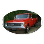 1971 Truck Oval Sticker