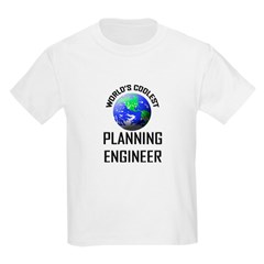 World's Coolest PLANNING ENGINEER T-Shirt