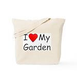 I (Heart) My Garden Tote Bag