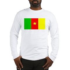 Cameroon Blank Flag Long Sleeve T-Shirt
