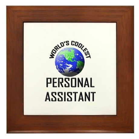 World's Coolest PERSONAL ASSISTANT Framed Tile
