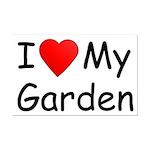 I (Heart) My Garden Mini Poster Print