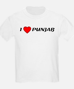 I love Punjab T-Shirt