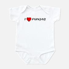 I love Punjab Infant Bodysuit