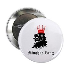 """Singh is King 2.25"""" Button"""