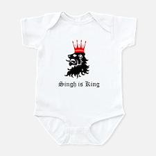 Singh is King Infant Bodysuit