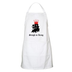 Singh is King BBQ Apron
