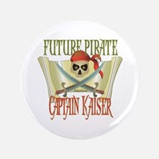 "Captain Kaiser 3.5"" Button (100 pack)"