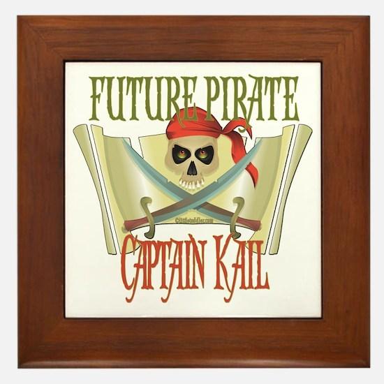 Captain Kail Framed Tile
