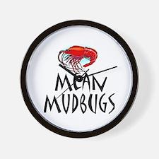 Mudbugs 2 Wall Clock