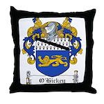 O'Hickey Family Crest Throw Pillow