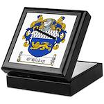 O'Hickey Family Crest Keepsake Box