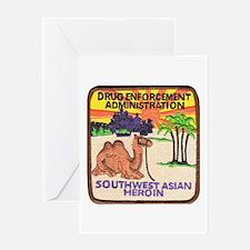 DEA Southwest Asia Greeting Card