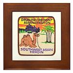 DEA Southwest Asia Framed Tile