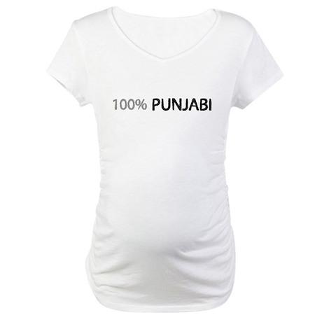100% percent Punjabi Maternity T-Shirt