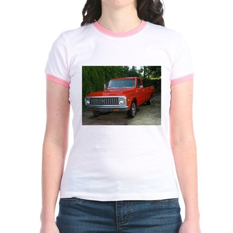 1971 C###y Truck Front & Rear Jr. Ringer T-Shirt