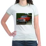 1971 C###y Truck Front & Rear Jr. Ringer T-Shirt