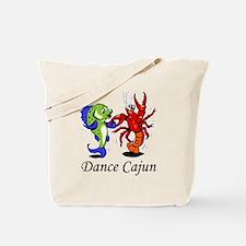 Dance Cajun Tote Bag