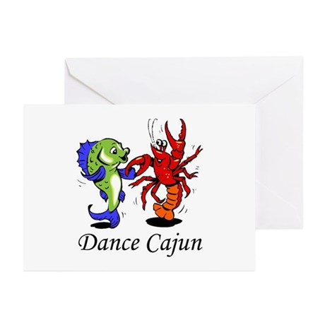 Dance Cajun Greeting Cards (Pk of 10)