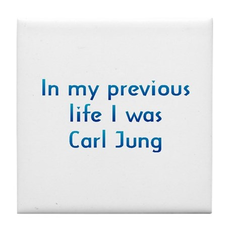 PL Carl Jung Tile Coaster