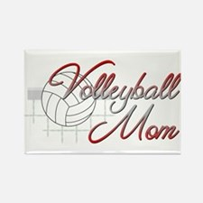 Volleyball Mom 3 Rectangle Magnet