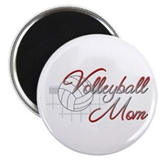 Volleyball Mom 3 Magnet