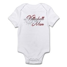 Volleyball Mom 3 Infant Bodysuit